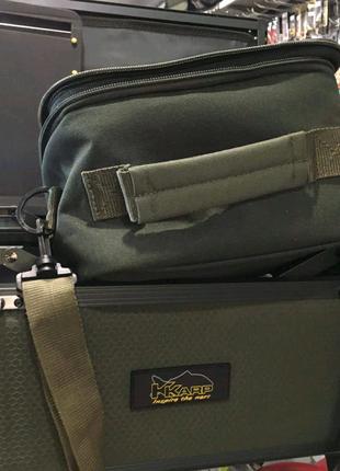 Раскладной карповый столик-сумка Trabucco K-KarpSupra Tech Box