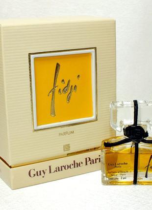 Guy Laroche Fidji Parfum винтаж духи 7 мл
