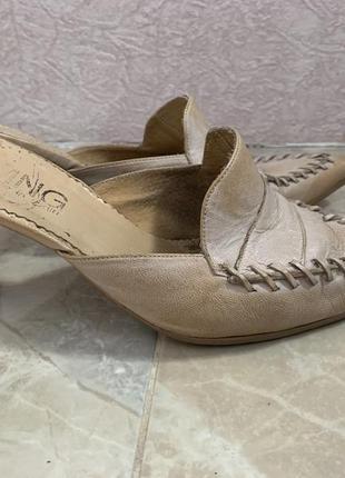 Туфли кожаные  mango 38 размера