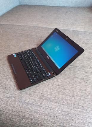 нетбук Asus X101h как новый 2ядерный 250гигабайт 10.1' ноутбук