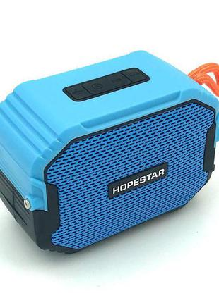 Колонка Bluetooth HOPESTAR T8 Blue