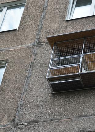 """Вольер для кошек на окно. """"Броневик"""" Днепр. Днепр"""