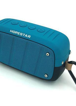 Колонка Bluetooth HOPESTAR T5 Blue
