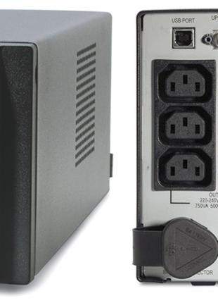 APC Smart-UPS 750VA, чистая синусоида, новые аккумуляторы CSB