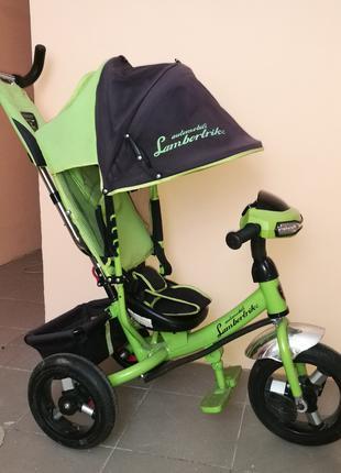 Велосипед Azimut Lambortrike с усиленной рамой и фарой