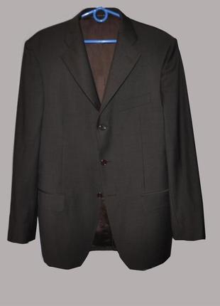 Классический брэндовый мужской пиджак il lanificio