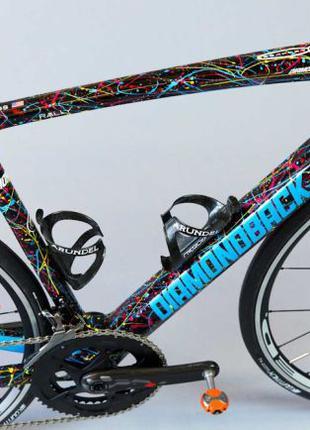 Дизайнерская покраска велосипедов.