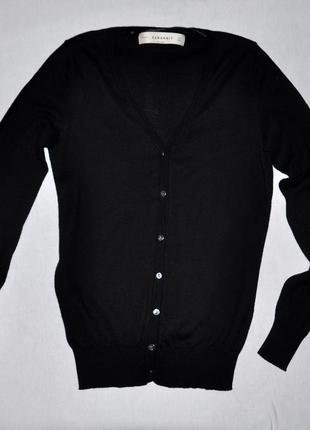 Черная кофточка zara knit