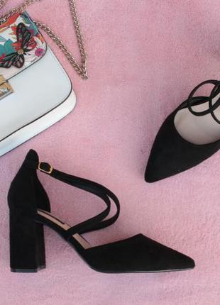 Черные туфли, лодочки, босоножки