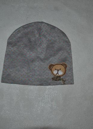 Детская шапочка мишка
