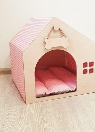 Стильный домик для собаки или кошки / домік для кота