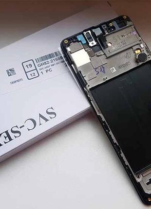 Купить дисплей Samsung A51 2020 (A515) черный с сенсором Оригинал