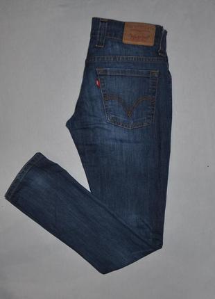 Светло-синие джинсы levis скинни