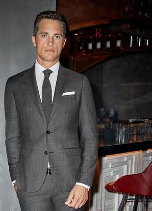Классический костюм roy robson 48 50 пиджак брюки деловой кост...