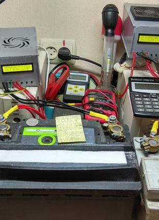 Зарядка, восстановление емкости, обслуживание аккумулятора ремонт