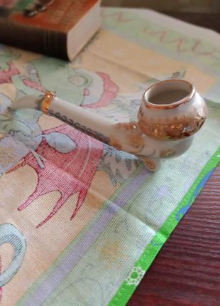 Курительная фарфоровая трубка, винтаж