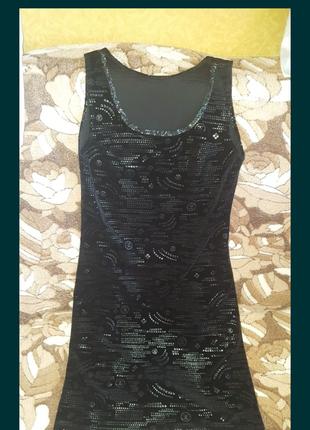 Платье черное вечерние