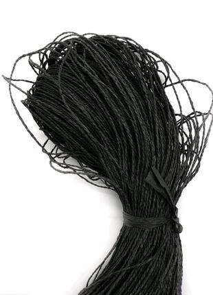 Рафия натуральная / рафия для вязания / пряжа для шляпок