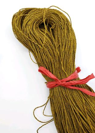 Рафия натуральная, рафия для вязания
