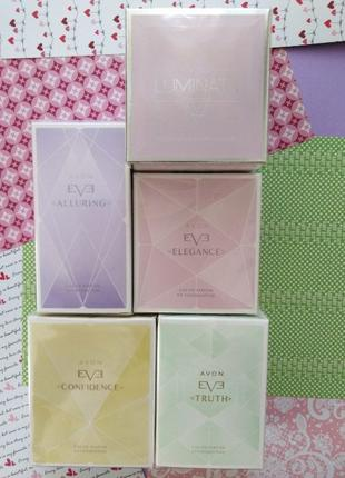Парфумна вода Avon Eve Duet, Confidence, Elegance, Alluring, T...