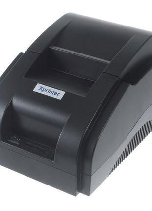 Новый принтер чеков Xprinter XP-58IIH чековый 1с 1с торгсофтJP...