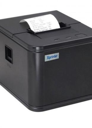 Bluetooth принтер чеков Xprinter C58 USB+автообрез POSTER