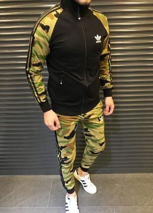 Спортивный костюм мужской Adidas камуфляж