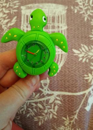 Детские часы черепаха