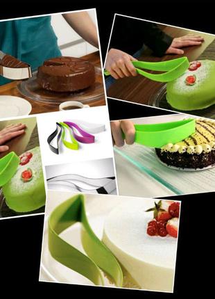 Нож-Лопатка для порционной нарезки тортов.