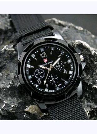Наручний годинник Swiss Army black