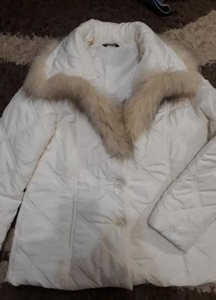 Куртка c натуральным мехом