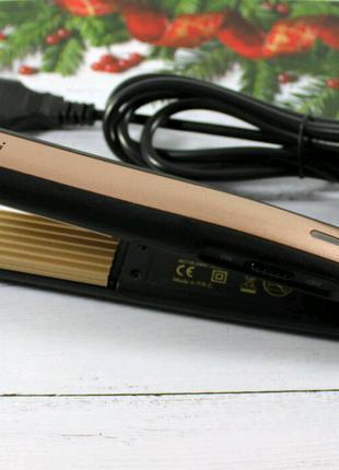 Утюжок-гофре для волос Gemei GM-2955 (40)