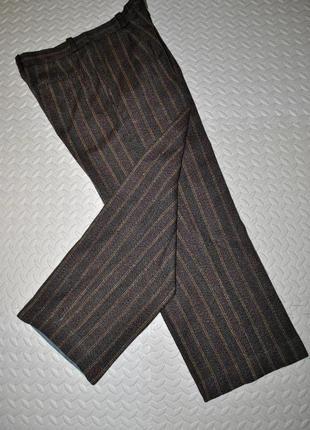 Штаны пот45 теплые зимние fred perry  шерсть мужские коричневы...