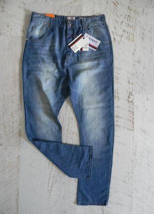 Летние тонкие легкие мужские джинсы