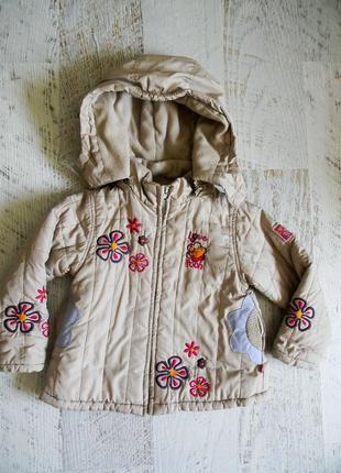 Демисезонная куртка для девочки 4-5 лет