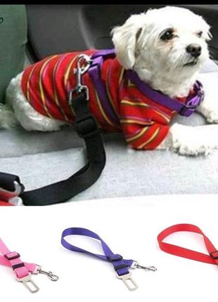 Автомобильный ремень безопасности для собак - Travel Belt