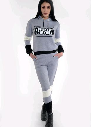 Спорт костюм женский 117r2960 цвет серый
