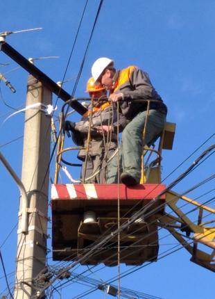 Услуги электрика Одесса. Обслуживание осмд. Ответственный за элек