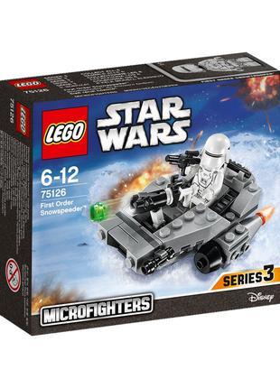 LEGO Star Wars 75126 Снеголет Первого Ордена