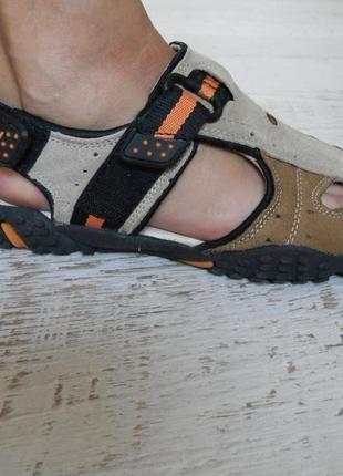 Замшевые спортивные сандалии босоножки 38р.