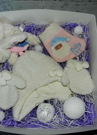 Новогодний набор подарок для новорожденной