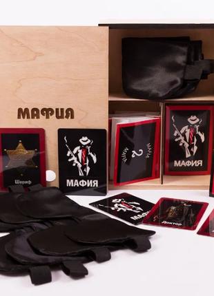 Подарочный классический набор для игры в мафию