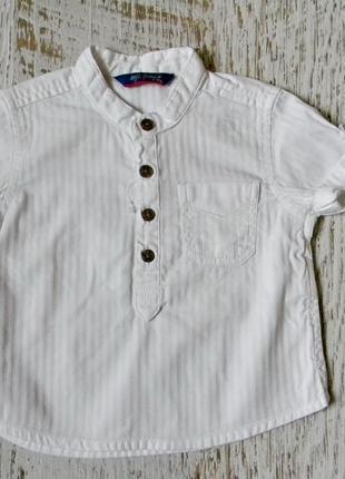 Крутая рубашка zara для стильного малыша