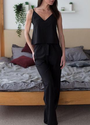 Пижама брюками ткань софт