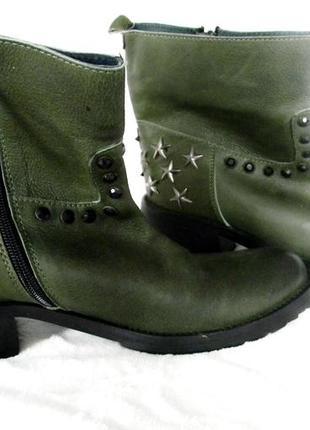 Тренд 2018 ботинки в стиле кэжуал  velvet la moda 39р.