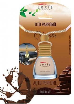 Ароматизатор пахучка в авто Шоколад 10 мл Loris parfum