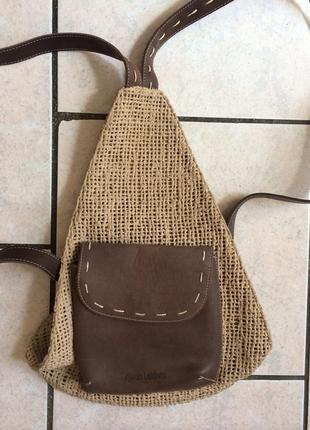 Брендовый рюкзак кожа