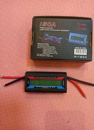 Ваттметр 150 A 60 v измеритель тока и напряжения
