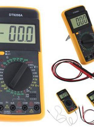 Мультиметр цифровой DT 9208 А