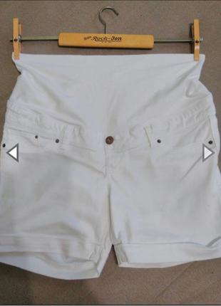 Шорты джинсовые для беременных denim co